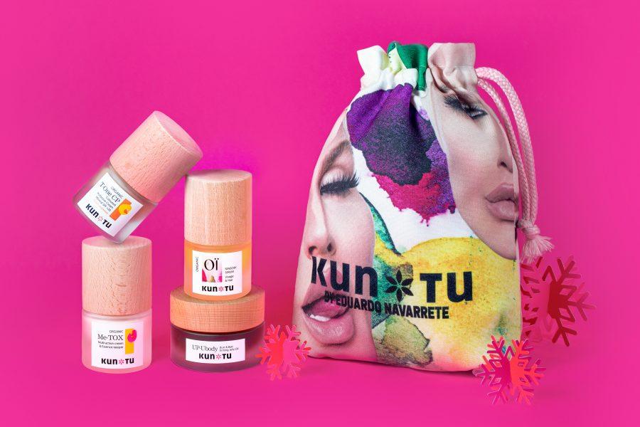 Eduardo Navarrete pack de cosmetica minitalla