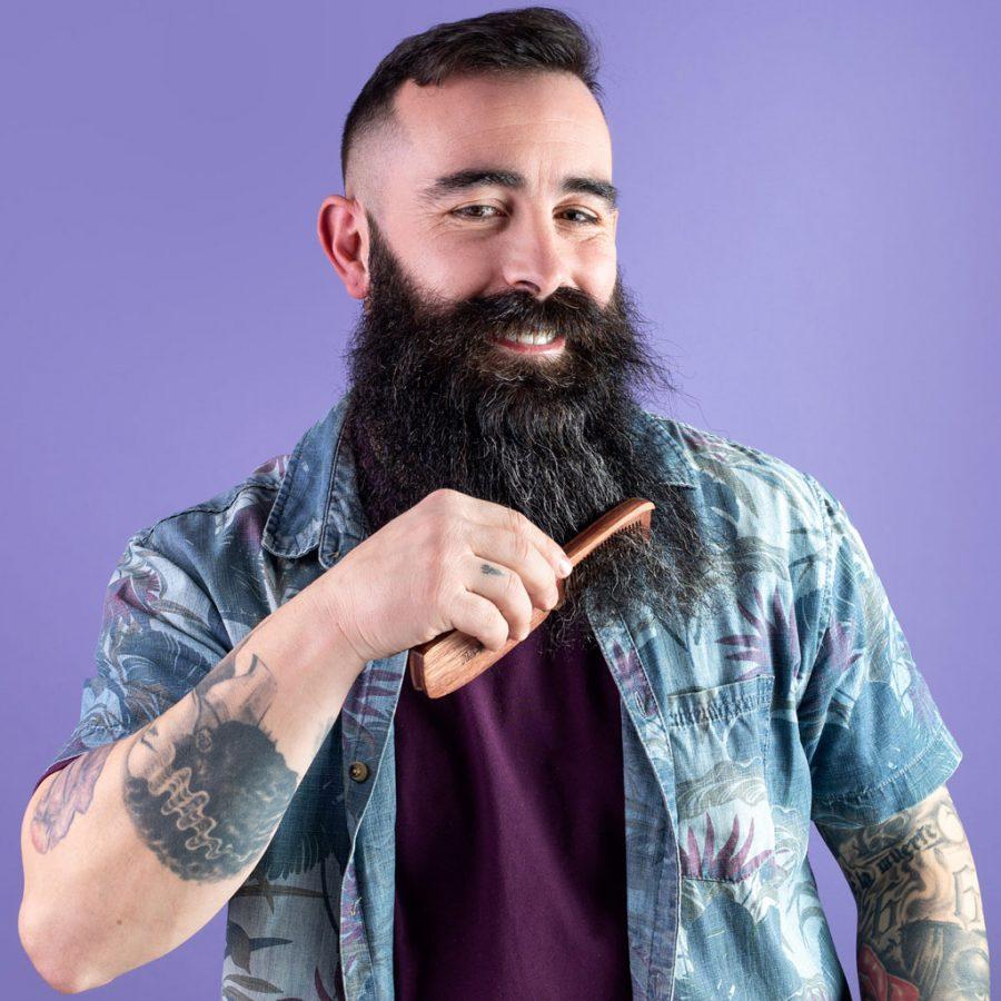BRD Style - Wooden Beard Comb