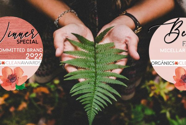 Kun-tu Cosmetica - Premios ORGANICS CLEAN AWARDS 2022 en 2 Categorías
