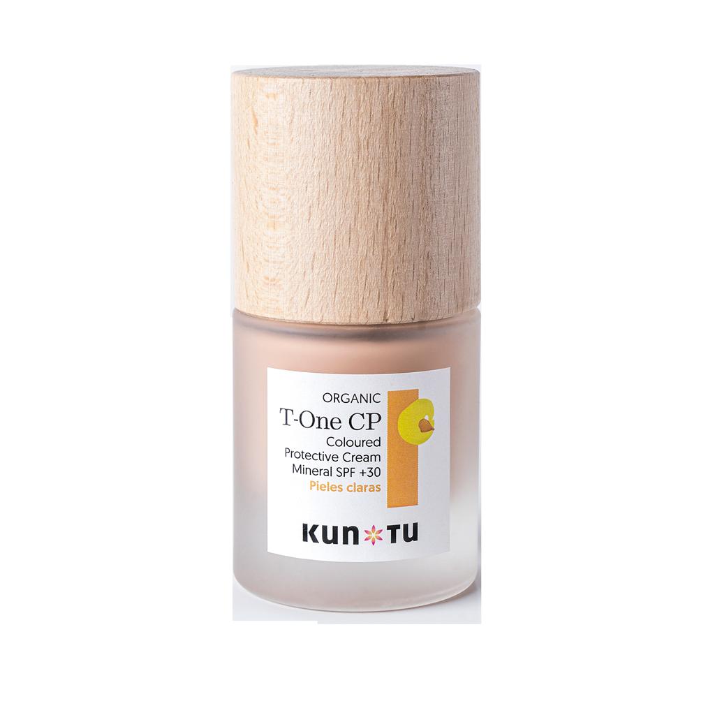 T-ONE CP Coloured Protective Cream Mineral SPF +20